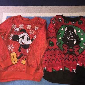 Boys Holiday sweatshirts
